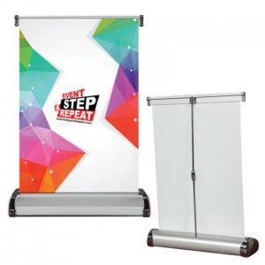 Roll Up Tabletop Banner Stands