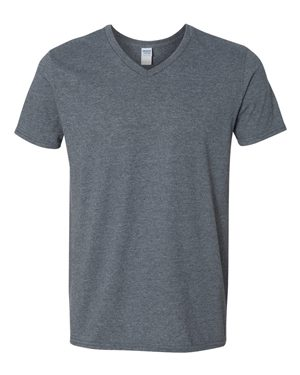 Gildan - Softstyle Men's V-Neck T-Shirt 1