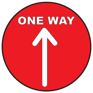 One Way Arrow